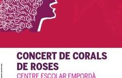 Concert de Corals a Roses a benefici de Guinea Conakry