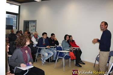 Alumnes de Català al GEN Roses