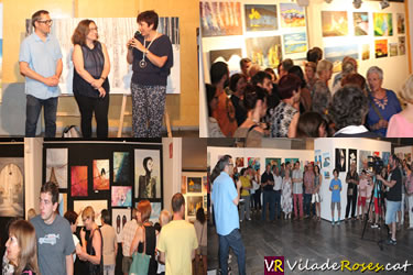 Exposició Escola d'Art de Roses