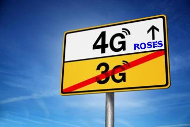 Tecnologia 4G a Roses