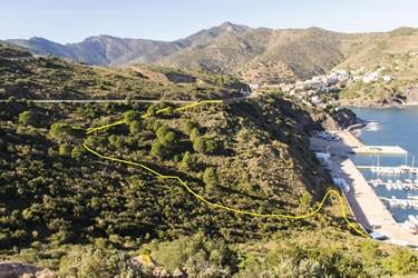 Antic camí de la Vinya d'en Xirau de Portbou