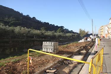 Construcció passeig urbà al Mas Oliva de Roses