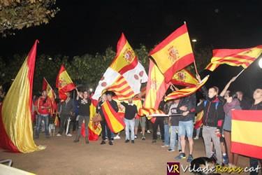 Concentració per una Espanya unida