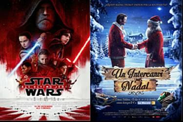Star Wars. Els últims Jedi' i 'Un intercanvi per Nadal' en català