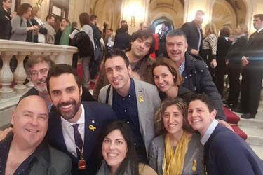 Investidura del president del Parlament de Catalunya
