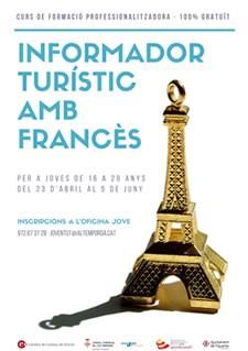 Curs d'Informador Turístic amb llengua francesa