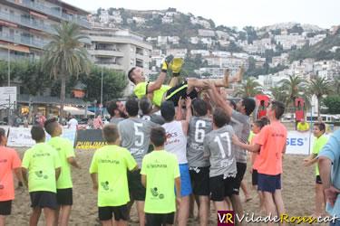 XXII Torneig de Futbol Platja Vila de Roses