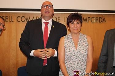 Montse Mindan, presidenta del Consell Comarcal de l'Alt Empordà