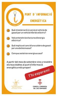 Punt d'Informació Energètica a 11 municipis de l'Alt Empordà