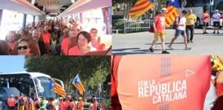Manifestació de la Diada de l'Onze de Setembre