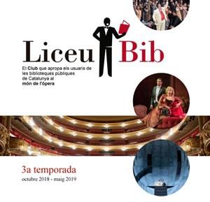 La Biblioteca de Roses amb l'òpera del Teatre del Liceu
