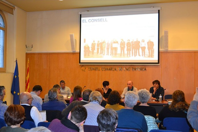 Lluís Llach al Consell d'Alcaldes de l'Alt Empordà