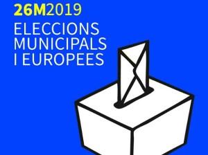 Cens electoral per a les eleccions municipals i europees
