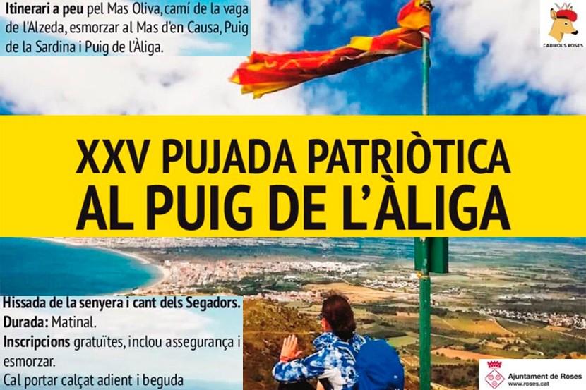 XXV Pujada patriòtica al Puig de l'Àliga de Roses