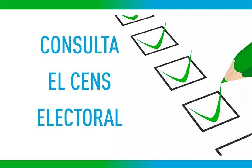 Cens electoral eleccions generals 10 N