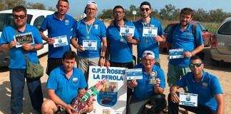 X Lliga de Surfcàsting del CPE Roses la Perola