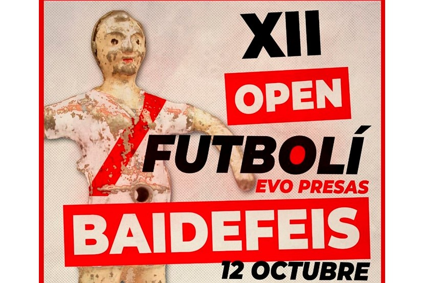 XII Open Bai de Feis de Futbolí Presas de Roses