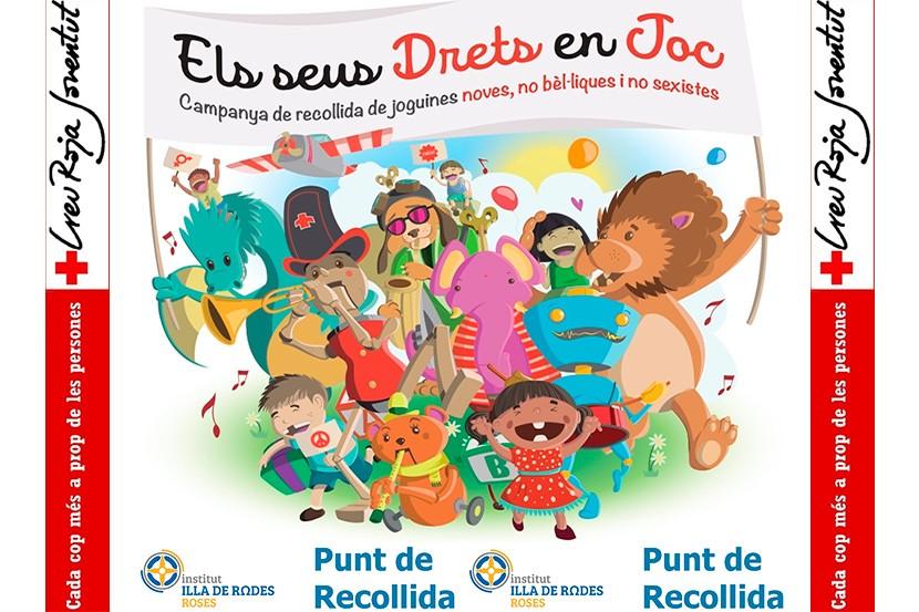 Campanya de recollida de joguines de Nadal de la Creu Roja Roses-Castelló d'Empúries
