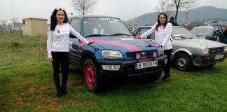 Primer equip femení de rallis de cotxes de Roses