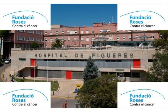 Donació Fundació Roses Contra el Càncer a l'Hospital de Figueres