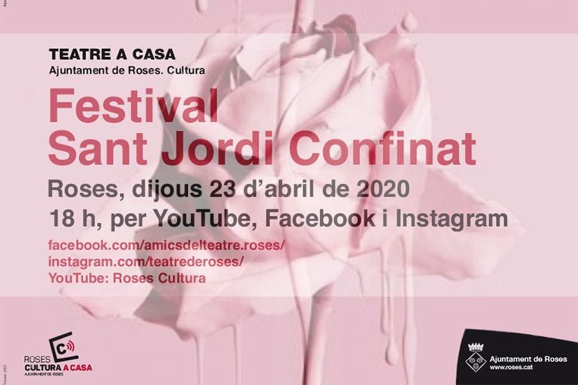 Festival Sant Jordi Confinat a Roses