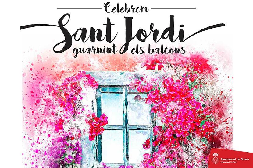Diada de Sant Jordi a Roses