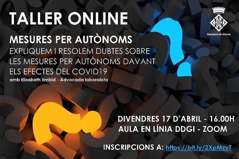 Tallers de la Diputació de Girona per a empreses i autònoms