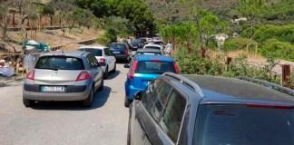42 cotxes denunciats a la carretera de Montjoi