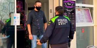 Reforç policial a Roses