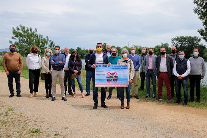 """Plataforma """"Stop al macroparc eòlic marí de la Costa Brava Nord"""