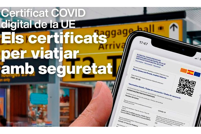 Certificat COVID digital