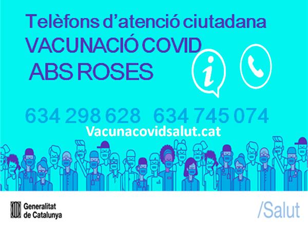 Vacunació Covid-19 a Roses