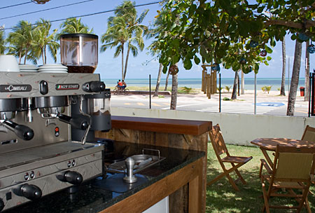 Vista do cafe
