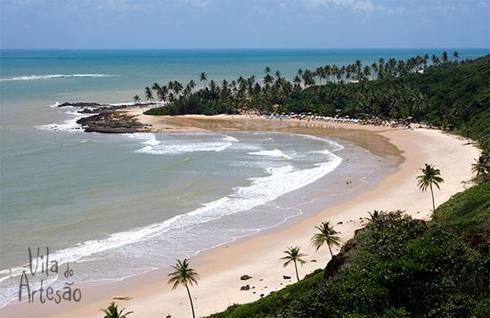 Coqueirinho no litoral Sul da Paraíba