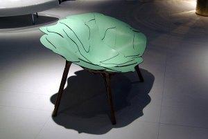 Cadeira Aguapé dos irmãos Campana no Salão de Milão 2008