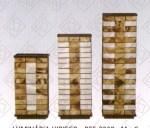 Luminárias de Mesa Hibisco em filtro de café Simone Oliveira