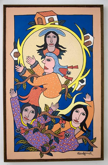 O Ciclo da Vida de Clóvis Júnior, artista do naif paraibano