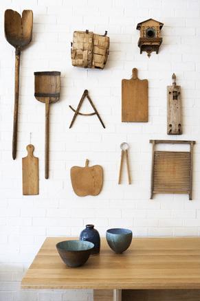 Coleção de utensílios de madeira, da LivingEtc