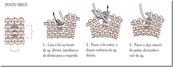 Aprenda como fazer o ponto tricô