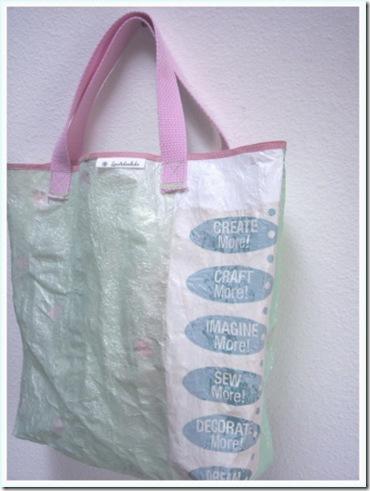 Eco-bag de sacola de plástico