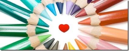 A cor do amor, paletas bacanas