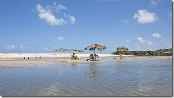 Banho no maceió de Praia Bela