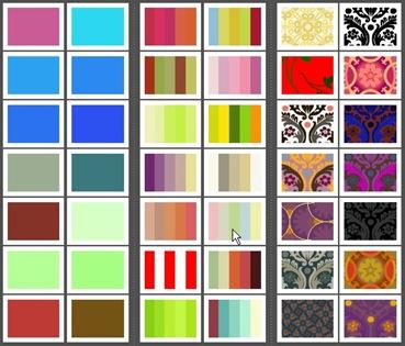 Cores, paletas e padrões da ColourLovers