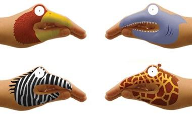 Mãos monstros de Hector Serrano