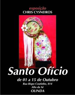Convite Expo SANTO OFICIO