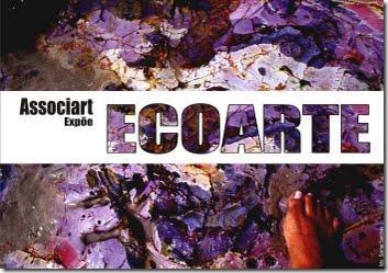 Cartaz da exposição Ecoarte