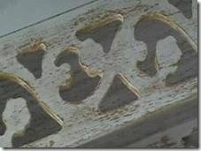 Veja o efeito final da pátina provençal