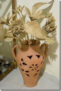 Meu vaso com as flores de Pitimbu