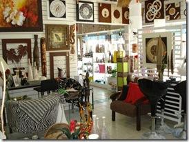 VIsta de dentro da loja Ofício das Artes