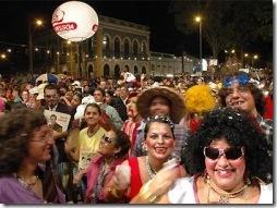 O Cafuçú se reúne no Centro Histórico de João Pessoa